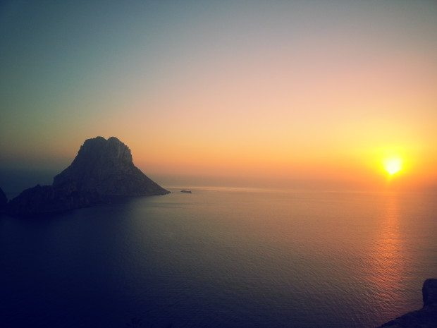 Sunset at Es Vedra ibiza
