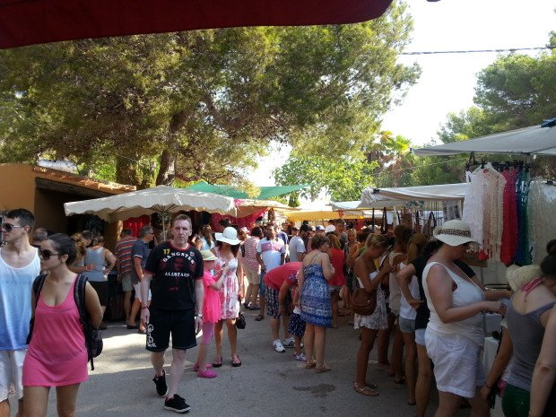 The Hippy Market at Es Cana Ibiza