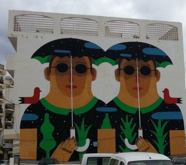 Street Art in San Antonio, Ibiza