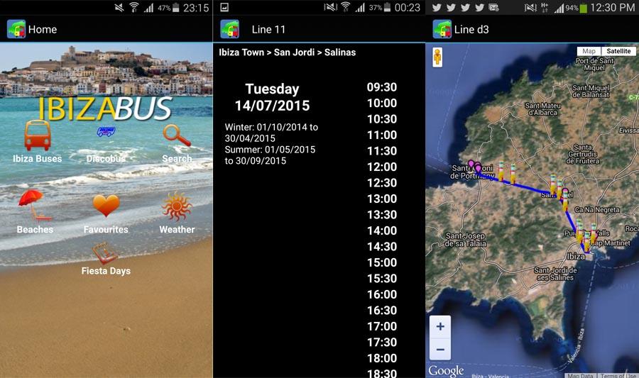 Ibiza Bus App