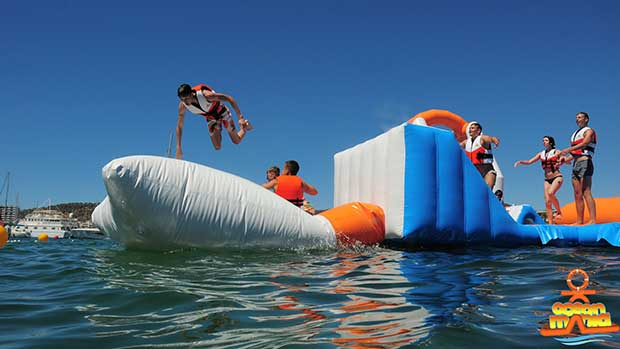 Ocean Mania wet watery fun for all the family