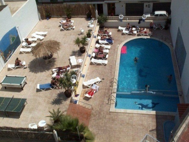 Hostal Marino San Antonio Ibiza Pool and Terrace