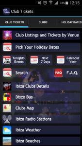 Ibiza Tickets App