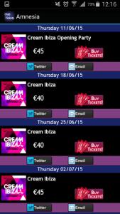 Ibiza Club Tickets