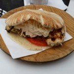 Ibiza Rocks Bar Chicken Pitta