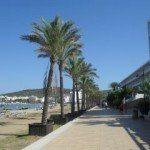 The promenade San Antonio Ibiza
