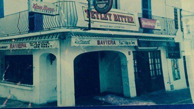 The original restaurant and Highlander