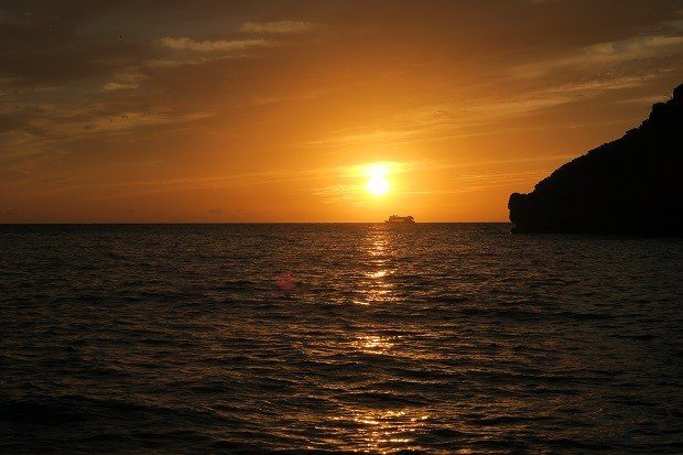 A truly beautiful sunset from Chilli Pepper Charters Ibiza