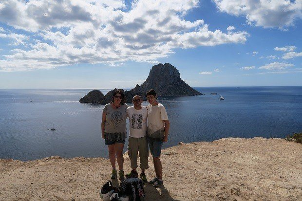 We took in the beautiful and magical Es Vedra while quad biking.