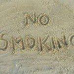 No smoking on Santa Eulàlia beach