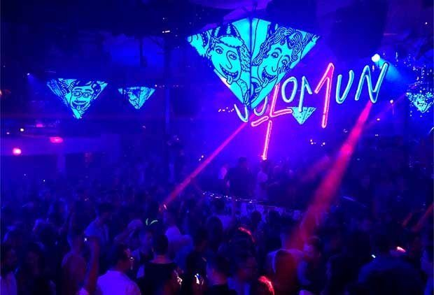 Solomun +1 raising the roof on Sunday at Pacha