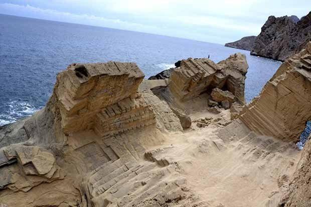 the lost city of Atlantis, Ibiza. A unique man made location