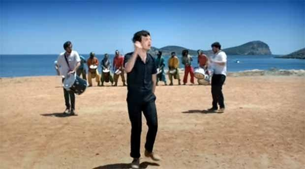 Friendly Fires - Kiss Of Life filmed beside Cala Compte Ibiza
