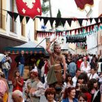 Ibiza Medieval Festival takes place in May around Dalt Vila