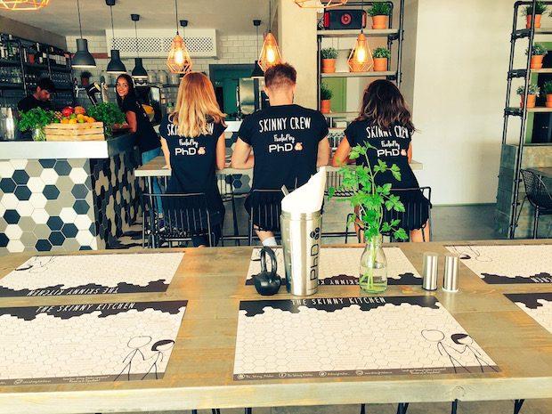 The new Skinny Kitchen by the marina San Antonio Ibiza
