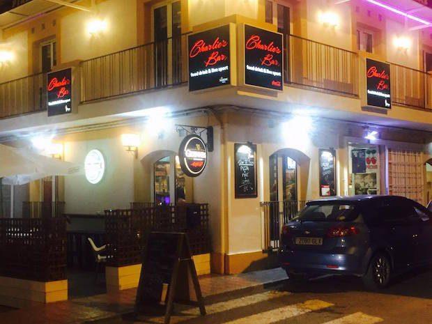 Charlies Bar a great Italian restaurant in San Antonio Ibiza