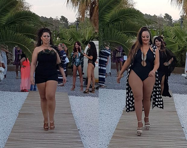 Ibiza Fashion Festival showing off that plus size models can be fashionable on the beach.