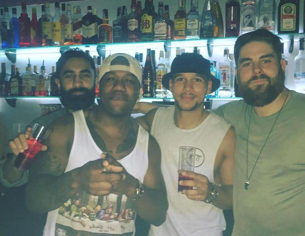 Rudimental in Viva Ibiza a venue loved by DJ's and all alike