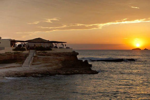 Sunset Ashram at Cala Conta Ibiza