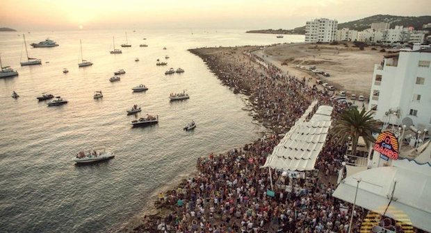 Sunset Strip San Antonio (Pic courtesy of Ibiza Spotlight) Our Top 5 Sunset Spots in Ibiza