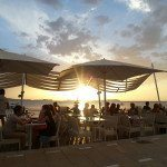 Ibiza Sunset from Mint Lounge