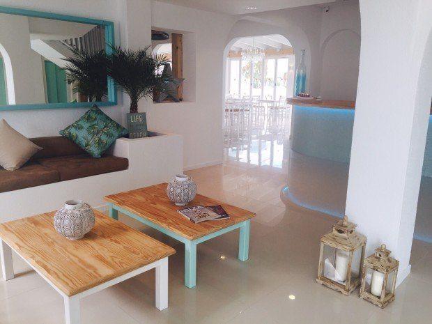 The Beach Star Ibiza - Reception Area