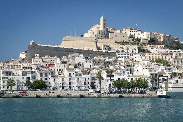 Dalt Vila one the cultural wonders of Ibiza