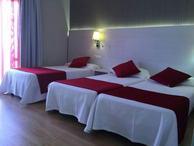 Hostal Marino rooms are a real home from home experiance