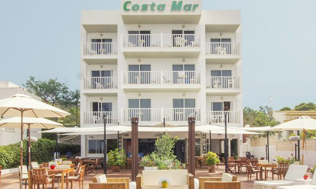 Costa Mar hotel which will be refurbished over the winter 2016 / 17