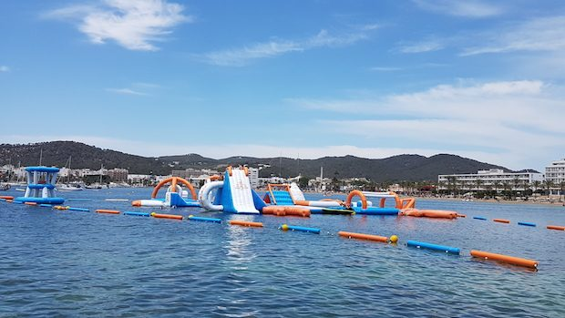 Ocean Mania wipeout course fantastic fun for all the family