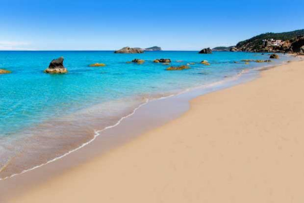 In August you yearn for those idyllic beach days in Ibiza